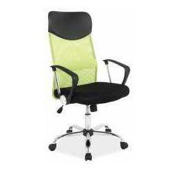Signal meble Fotel q-025 zielono-czarny - zadzwoń i złap rabat do -10%! telefon: 601-892-200