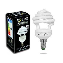 Świetlówka energooszczędna POLUX Platinum 15W 70W E14 2700 - produkt dostępny w LUKE HOME DESIGN Architekci Światła