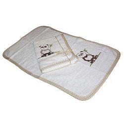 Kieczmierski Ręcznik Antyalergiczny bambusowy z haftem Panda 30/50cm (2000000290102)