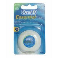 Oral-B Essential Floss Nić dentystyczna woskowana miętowa 50 m (5010622005029)