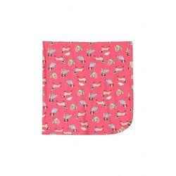 Kocyk niemowlęcy różowy 90x90cm 6O40A3