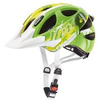 Kask rowerowy  hero junior zielony wyprodukowany przez Uvex