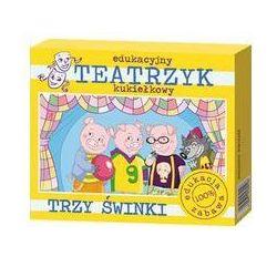 Trzy świnki Edukacyjny teatrzyk kukiełkowy (pacynka, kukiełka) od SELKAR
