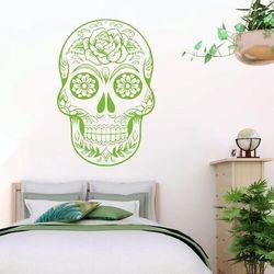 Szablon malarski czaszka meksykańska 2481 marki Wally - piękno dekoracji