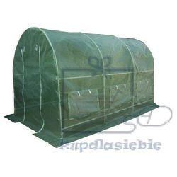 Garthen Szklarnia tunel foliowy gardenay 190 x 200 x 450 cm zielony