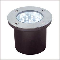Profi EBL Floor LED 3x1,2W okrągłe stal. - z kategorii- pozostałe oświetlenie