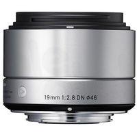 Sigma 19 mm f/2,8 DN A (srebrny) - produkt w magazynie - szybka wysyłka!