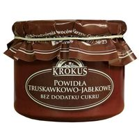 Krokus Powidła truskawka-jabłko bez cukru 310g -  (5906732624093)