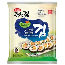 Kimnori Glony nori do sushi i kimbap, 10 sztuk - korea