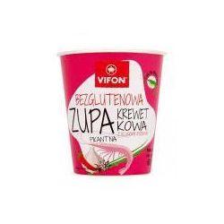 Zupa błyskawiczna bezglutenowa krewetkowa z kluskami ryżowymi 60 g Vifon (danie gotowe)