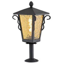Argon Lampa stojąca sandomierz 3281 zewnętrzna 1x60w e27 ip44 czarny / miodowy (5908259951027)