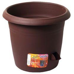 Donica samonawadniająca Siesta, czekolada, 30 cm, 30 cm