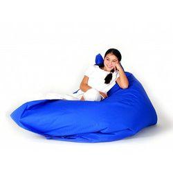 Beliani Xxl poducha pufa worek do siedzenia 140x180cm niebieski (7081456822920)