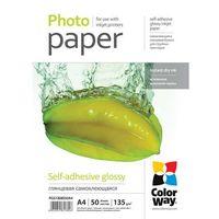 ARSEJ Papier Samoprzylepny Błyszczący ColorWay A4 135g