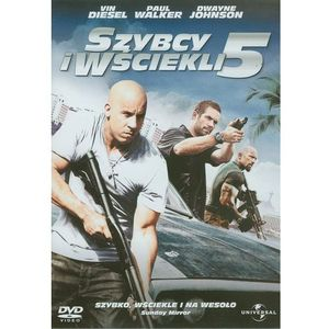 Szybcy i wściekli 5 (DVD) - Chris Morgan OD 24,99zł DARMOWA DOSTAWA KIOSK RUCHU, 57818602793DV (192776)