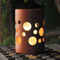 New genova lampa solarna led cylinder marki Konstmide