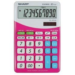 Kalkulator elm332bpk różowy szybka dostawa! darmowy odbiór w 20 miastach! marki Sharp