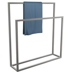 Wieszak na ręczniki stojący stal nierdzewna szlif rozmiar L