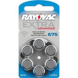 6 x baterie do aparatów słuchowych Rayovac Extra Advanced 675 MF z kategorii Baterie