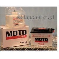 Akumulator motocyklowy Moto Start YB4L-B 4Ah 56A