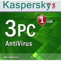 Kaspersky Antyvirus 2016 3 PC ESD - sprawdź w wybranym sklepie
