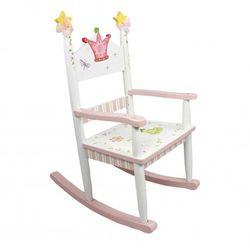 Fotel bujany dla dziecka księżniczka i żaba marki Fantasy fields