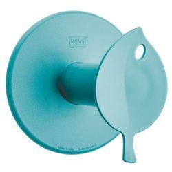 Wieszak na papier toaletowy Sense turkusowy