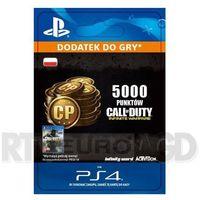 Call of duty: infinite warfare - 5000 punktów [kod aktywacyjny] marki Sony