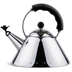 Alessi Czajnik z gwizdkiem 9093 czarny (8003299939404)