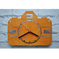 Zegar Ścienny Aparat, kolor Zegar