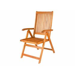 Florabest® krzesło ogrodowe składane z podłokietnik