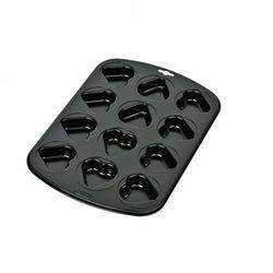 Kaiser  - love forma do muffinek mini serca na 12 sztuk wymiary: 38x27cm