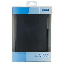 4world Etui do tabletu  stand dla galaxy tab 2, 4-fold slim, 7, czarne 9118 darmowy odbiór w 15 miastach!