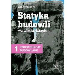 Statyka Budowli. Konstrukcje Budowlane. Podręcznik, pozycja wydawnicza