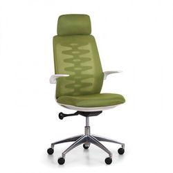 B2b partner Krzesło biurowe z oparciem siatkowym sitta white, zielony