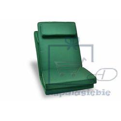 Komplet 2 x poduszka garth na krzesło zielona marki Divero