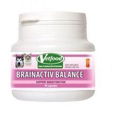 VETFOOD Brainactive Balance 30/60kaps. - sprawdź w wybranym sklepie