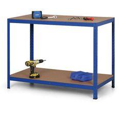 Stół warsztatowy, półki mdf, 900 x 1200 x 600mm marki B2b partner