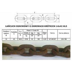 Łańcuch Rozrzutnika Obrornika 14x42 KL5, towar z kategorii: Maszyny rolnicze i części do maszyn
