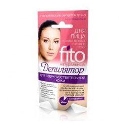 Fitokosmetik  naturalny krem do depilacji twarzy i delikatnych obszarów skóry 3x5ml