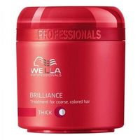 Wella  brilliance mask thick hair 500ml w maska do włosów grubych i farbowanych (4015600122409)