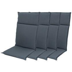 zestaw poduszek ogrodowych hit uni 7840 wysokie - 4 szt marki Doppler