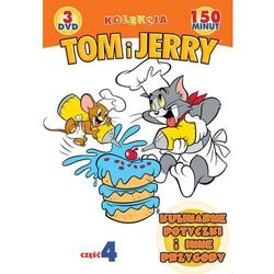 Tom i Jerry: Kulinarne potyczki i inne przygody. Kolekcja - część 4 (3xDVD) - Galapagos - sprawdź w wybran