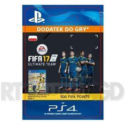 FIFA 17 500 Punktów [kod aktywacyjny] - produkt z kategorii- Pozostałe akcesoria do konsoli