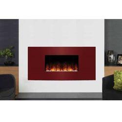 Kominek Studio 1 Verve z czerwonym frontem - wersja wisząca - kolor przedniego panela do ustalenia