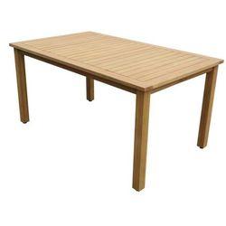 Vente-unique Stół ogrodowy azzao z drewna eukaliptusowego dł. 150 cm