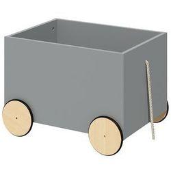 Skrzynia na zabawki na kółkach Lotta Grey