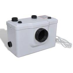 Vidaxl  pompa wc, biała (600w).