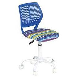 krzesło obrotowe Bali niebieski