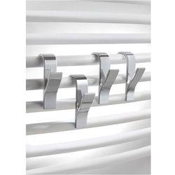 Wieszaki na grzejniki łazienkowe (4 części) bonprix srebrny
